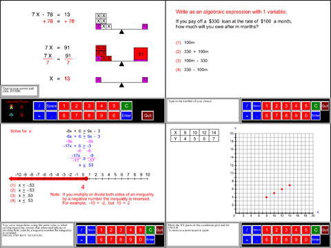 6th Grade Math Common Core App - 3