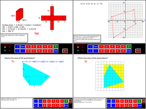 6th Grade Math Common Core App - 4