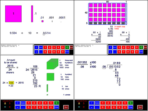 5th Grade Math Common Core App - 2