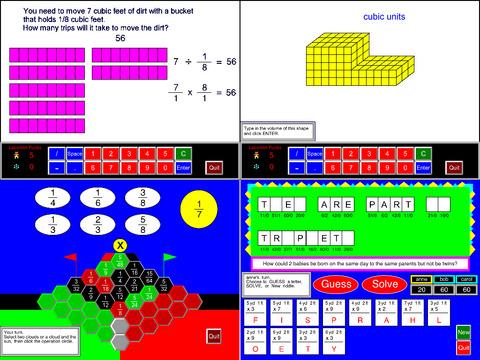 5th Grade Math Common Core App - 4