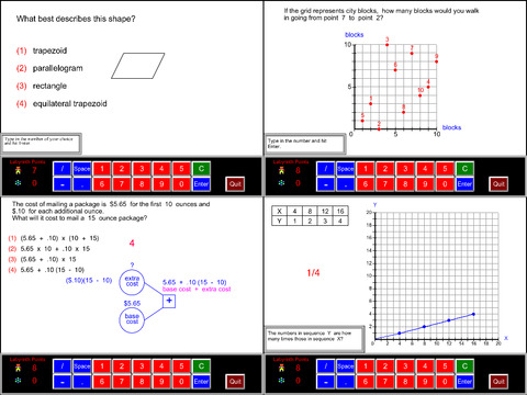 5th Grade Math Common Core App - 5