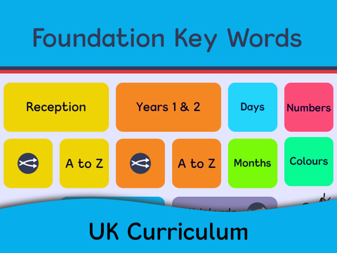 Foundation Key Words App - 5