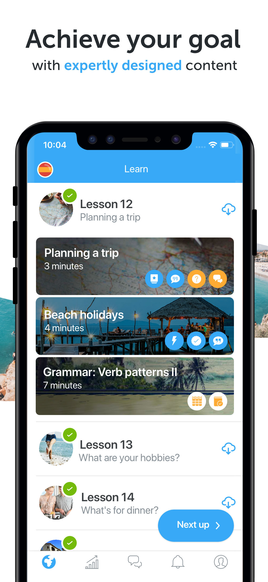 Learn Languages busuu App - 3
