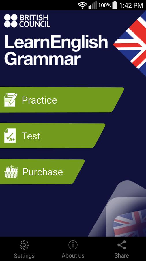 LearnEnglish Grammar (UK ed.) App - 1