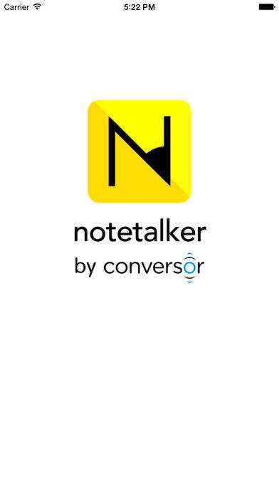 Notetalker App - 4