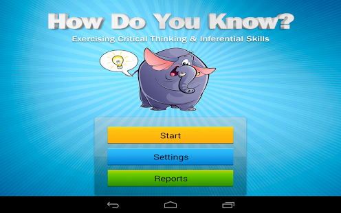How Do You Know? App - 1