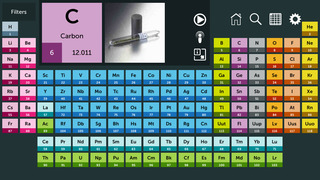 Periodic table review educational app store periodic table app 1 urtaz Images