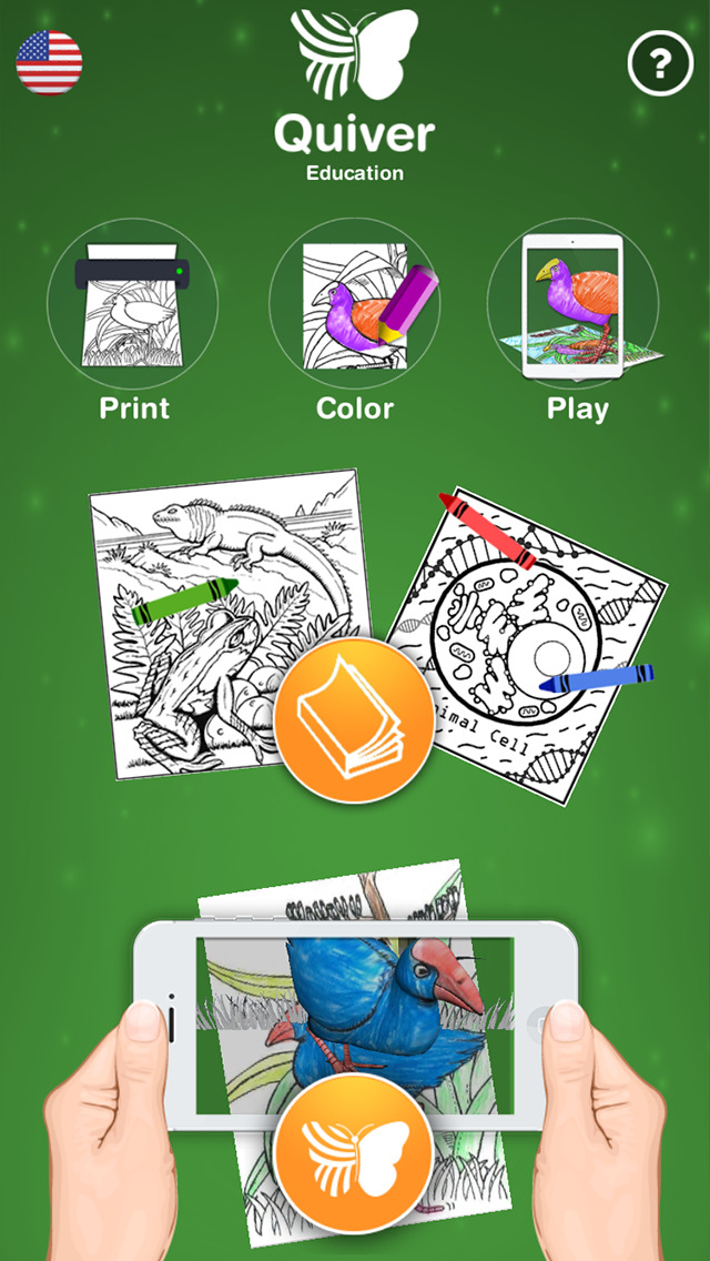 Quiver Education - 3D Coloring App