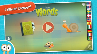 Happi Words - A game for practicing word association, spelling and vocabulary App - 5