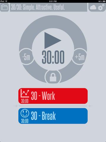 30/30 App - 5