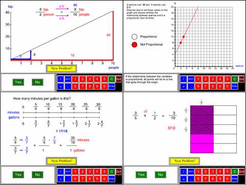 7th Grade Math Common Core App - 1