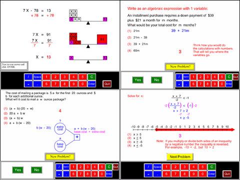 7th Grade Math Common Core App - 3