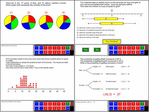 7th Grade Math Common Core App - 5