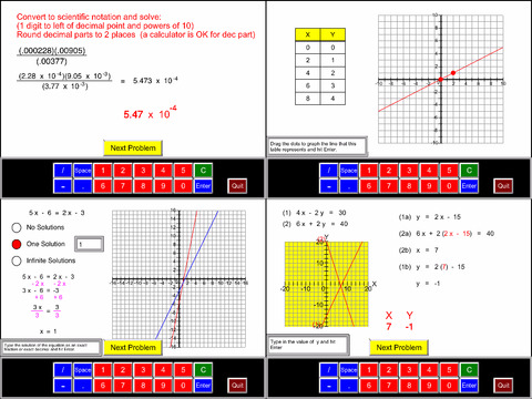8th Grade Math Common Core App - 2