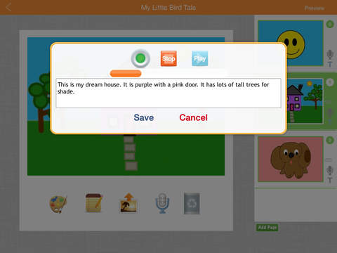 Little Bird Tales: Free Digital Storytelling, Presentations and Lessons with Audio for Kids-3