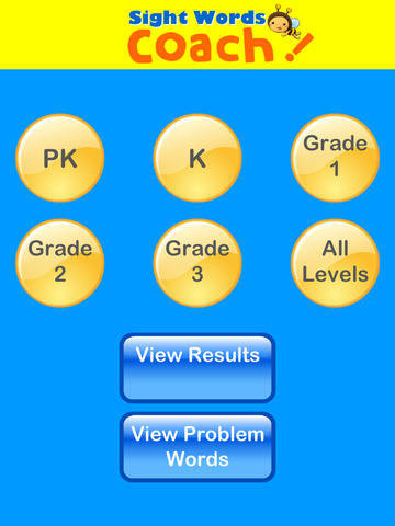 Sight Words Coach App - 1