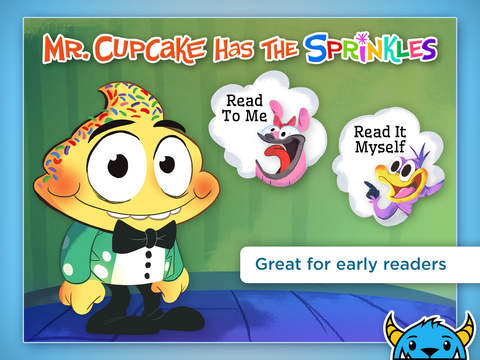 Mr. Cupcake Has The Sprinkles – An Interactive Animated Storybook App For Kids HD App - 1