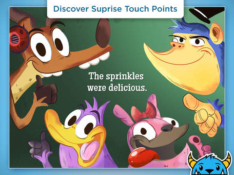 Mr. Cupcake Has The Sprinkles – An Interactive Animated Storybook App For Kids HD-2