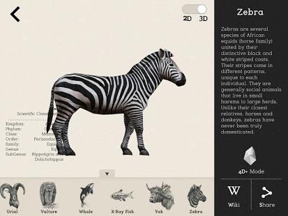 Animal 4D+ App - 3