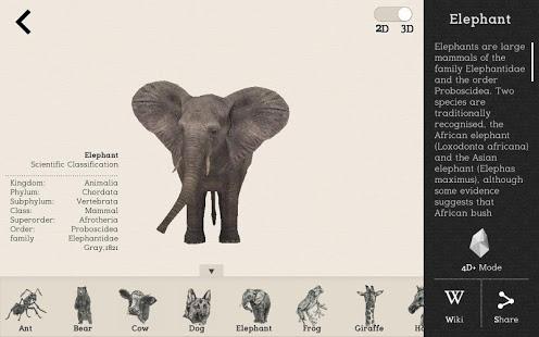 Animal 4D+ App - 8