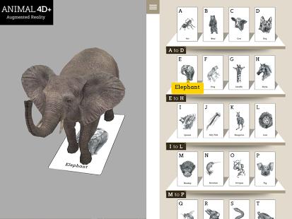 Animal 4D+ App - 9