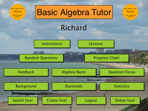 Basic Algebra Tutor