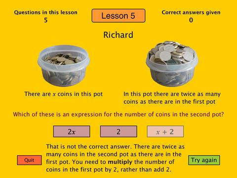 Basic Algebra Tutor-4