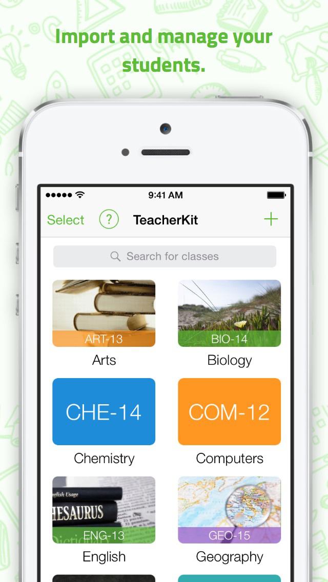 TeacherKit - Class Organizer, Teacher Planner, Gradebook, Assignment List, Attendance and Student