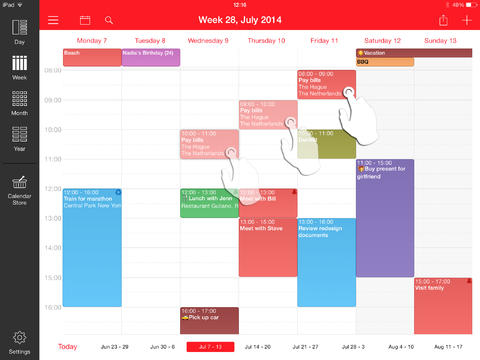 Week Calendar for iPad-5