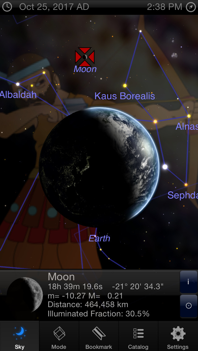 StarMap D Guide To The Night Sky Planets Constellations And - Star map now