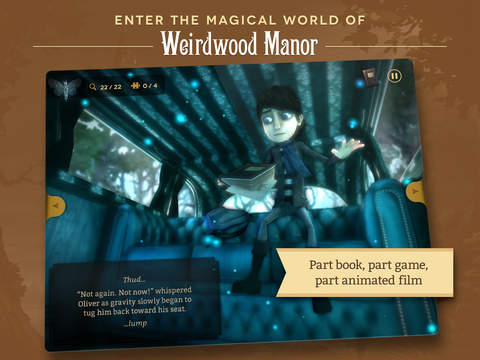 Weirdwood Manor App - 1