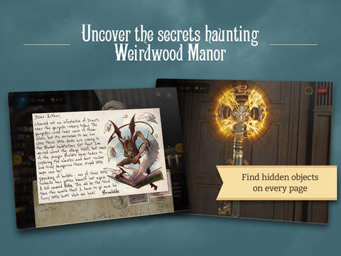 Weirdwood Manor App - 4