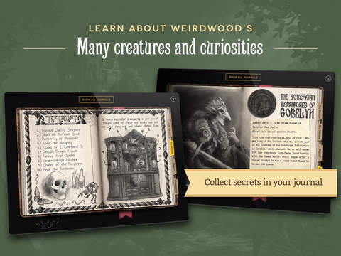 Weirdwood Manor App - 5