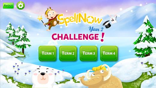 SpellNow Year 2 Challenge App - 1