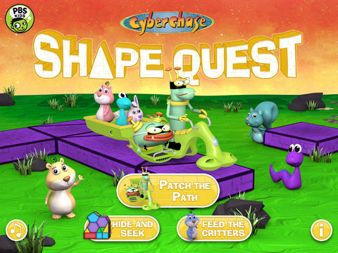 CyberChase Shape Quest! App - 1