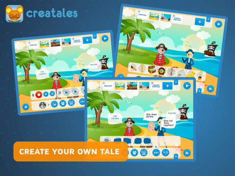 Creatales - creative storytelling app, great for learning language  k12 App - 2