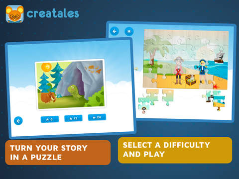 Creatales - creative storytelling app, great for learning language  k12-3