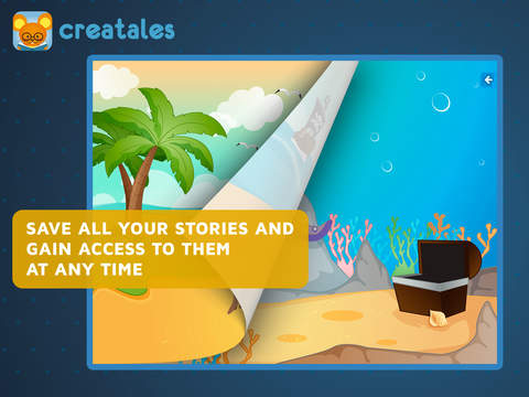 Creatales - creative storytelling app, great for learning language  k12-5