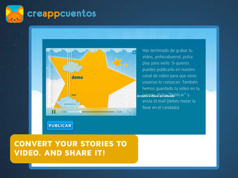 CreAPPcuentos - Create funny stories  of Halloween , Christmas and classic tales and play with the puzzles-5