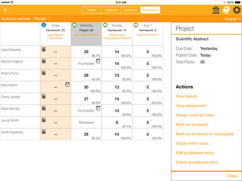CanaryFlow Teacher (Classroom Workflow) App - 5