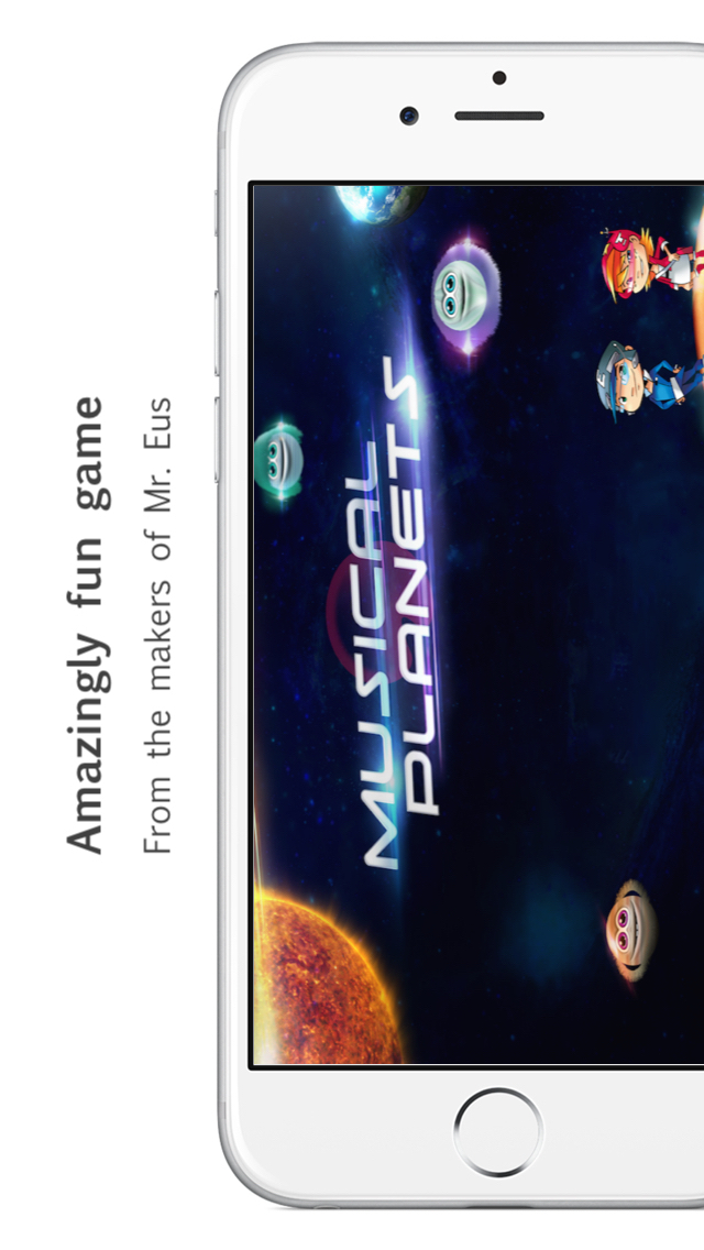 Musical Planets - A quiz game App - 1