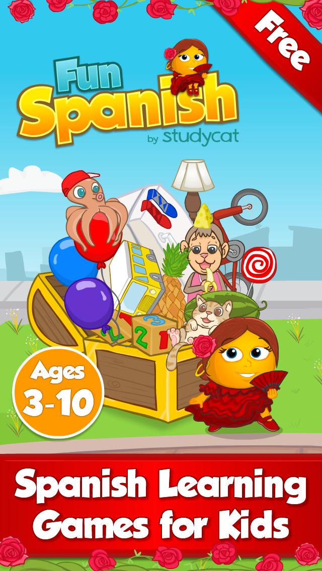 Fun Spanish: Language learning games for kids-1