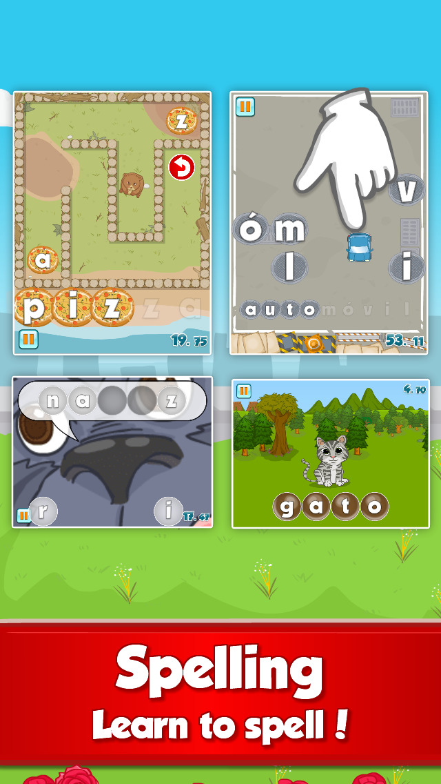 Fun Spanish: Language learning games for kids-4