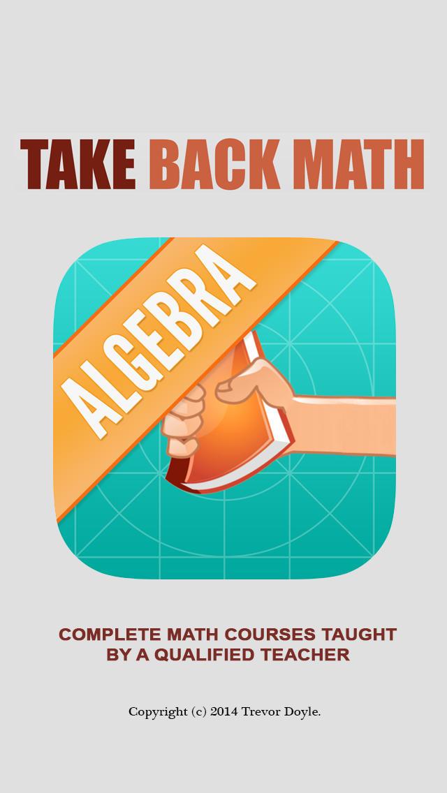 Algebra.-1