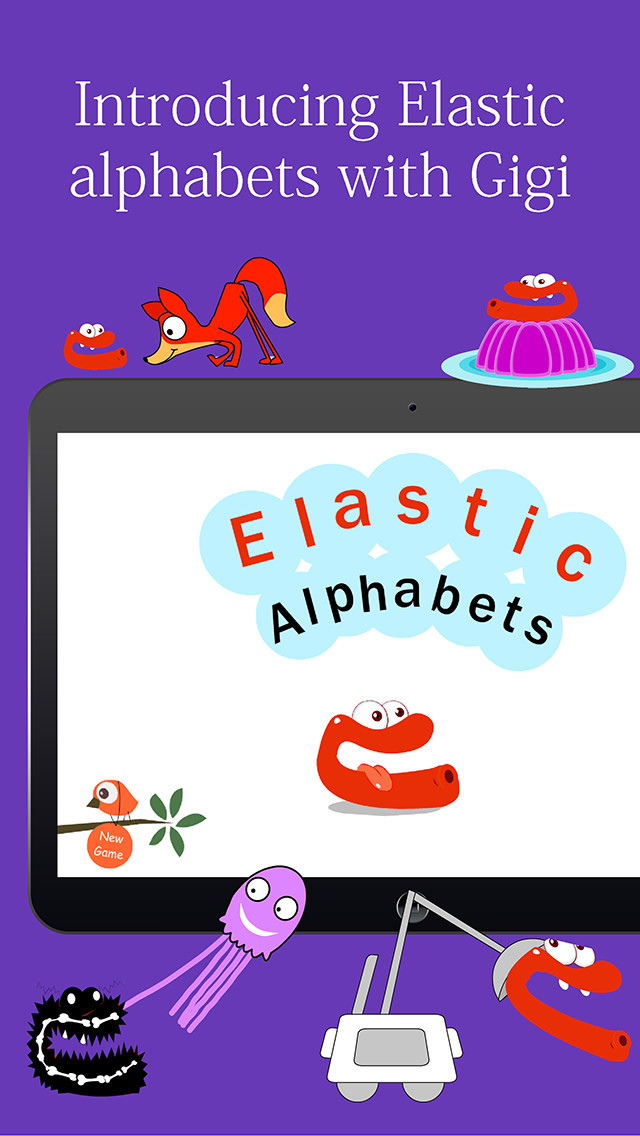 Elastic Alphabets® for kids