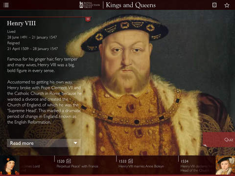 Kings & Queens: 1,000 Years of British Royal History App - 1