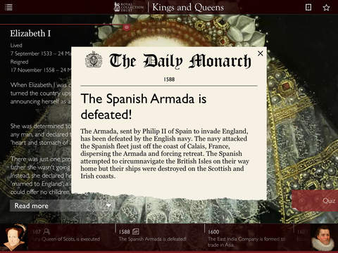 Kings & Queens: 1,000 Years of British Royal History App - 5