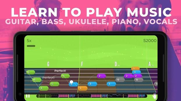 Yousician - Learn Guitar, Piano, Bass & Ukulele App - 1