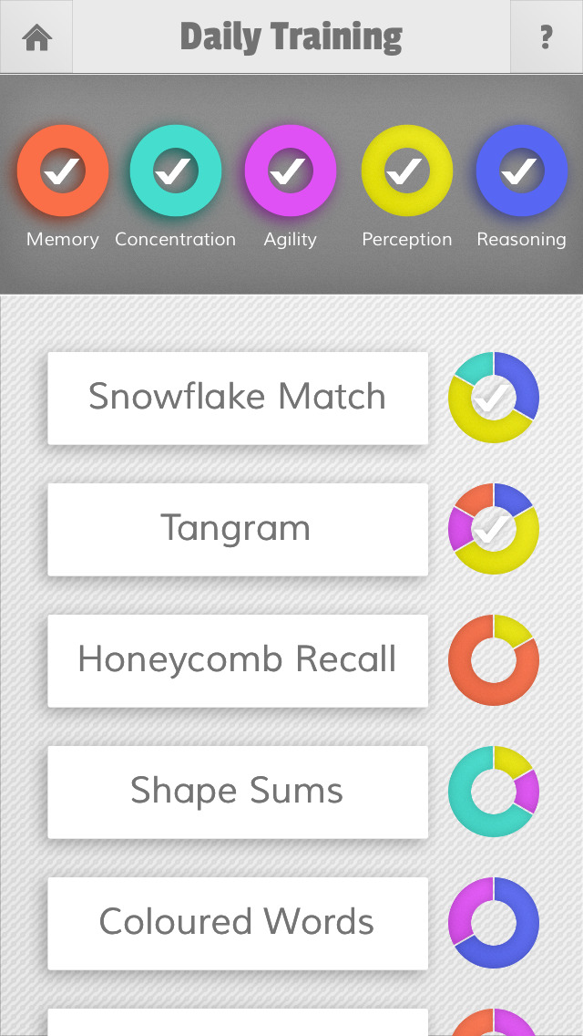 Mensa Brain Training App - 1