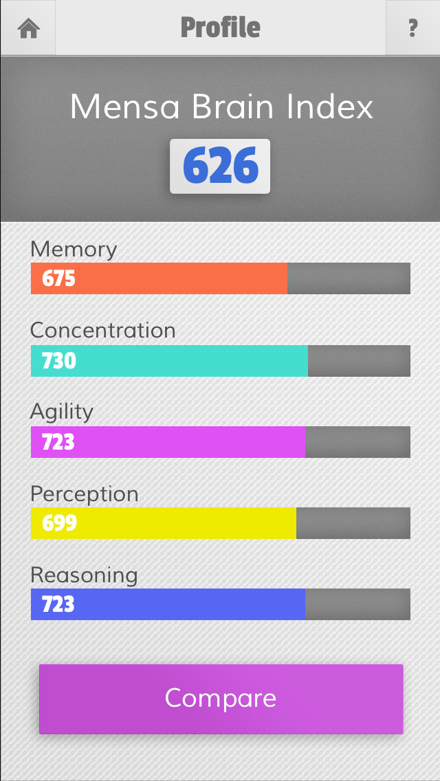 Mensa Brain Training App - 4